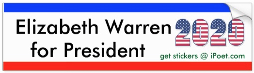 Elizabeth Warren for President in 2020