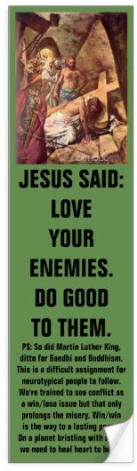 Jesus and his 'Love Your Enemies' message