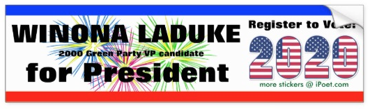 WINONA LADUKE for President 2020