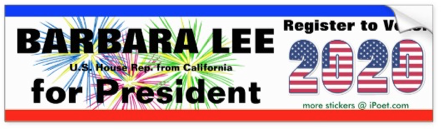 Barbara Lee for President 2020
