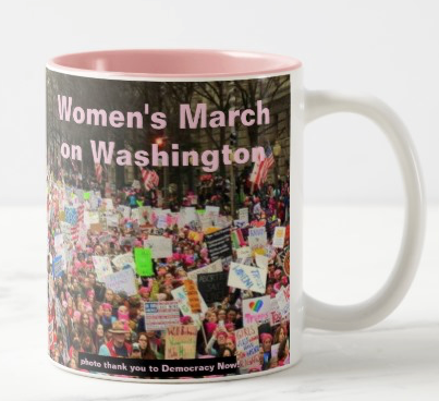 Women's March on Washington mug