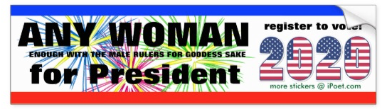 ANY WOMAN for President 2020