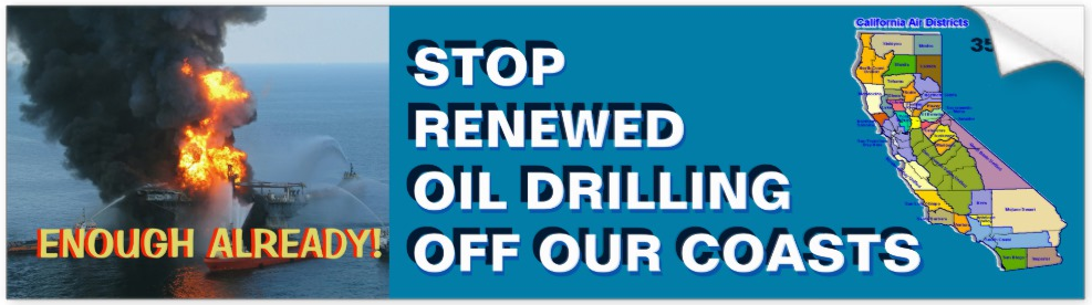 Stop Oil Spills Off Our Coasts